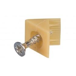 CONECTOR PFL CU SURUB PREMONTAT PLASTIC BEJ 260.09.410