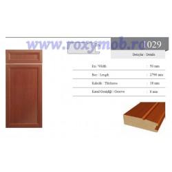 PROFIL MDF 1029 - 18X50X2800 MM - WENGHE 246