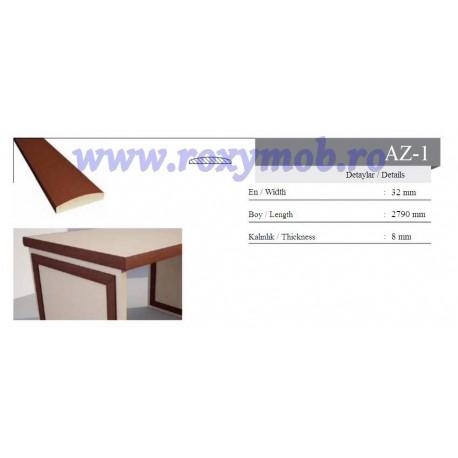 PROFIL MDF AZ 1 - 8X32X2800 MM - WENGHE 246