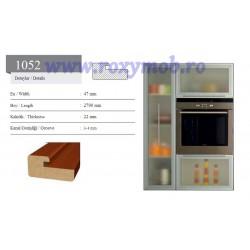 PROFIL MDF 1052 - 22X47X2800 MM - WENGHE 246