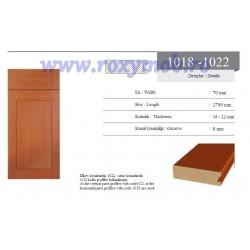PROFIL MDF 1022 - 22X70X2800 MM - WENGHE 246