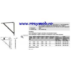 CONSOLA RABATABILA 200X210 MM ALB / MARO 287.40.105 / 203