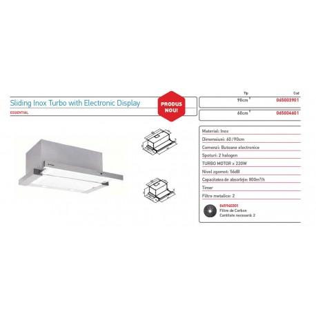 HOTA PYRAMIS SILVER SLIDING TURBO ELECTRIC 60CM 065004601