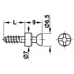 DEMONTABIL RAFIX 20 BOLT S20 GALV 3/11 263.20.810