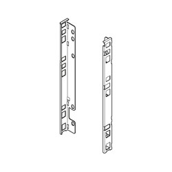 ZB7F000S SUPORT SPATE LEMN INALTIME F 257MM NEGRU