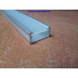 PROFIL ALUMINIU LED + CAPAC 3064 ( 3 METRI )