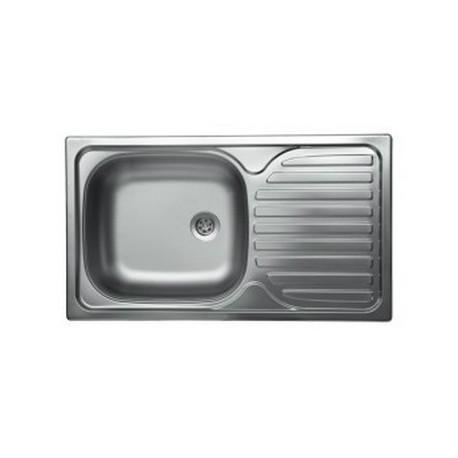 CHIUVETA LIV INOX EC-142DK PANZAT 860X435X165MM