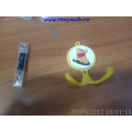 AGATATOR CUIER COPII TEDY BEAR WINNIE HG02 55X65X25MM