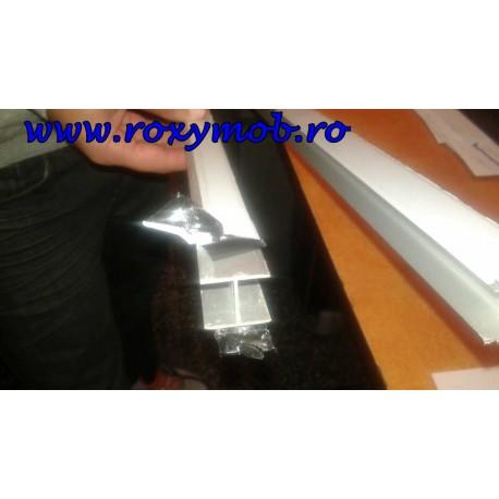 PROFIL INTERMEDIAR H ALU PAL-PAL H25 MM ( 3 METRI )
