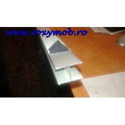 PROFIL INTERMEDIAR H ALU PAL-PAL H30 MM ( 3 METRI )
