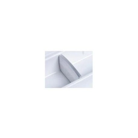 DIVIDER LINEA PLASTIC SILVER 556.89.164