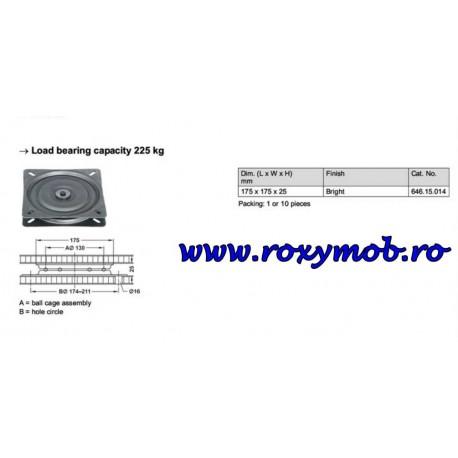 SUPORT ROTATIV TV HAFELE 100 KG 360 GRADE 170 MM 646.15.014
