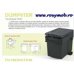 COS GUNOI DUMPSTER 15L 240X345XH295MM