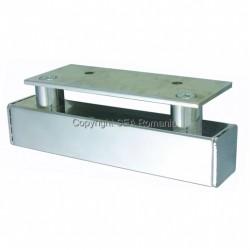 PICIOR CANAPEA METALIC 200X200XH65MM CROMAT 444.40.22