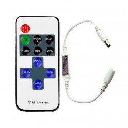 CONTROLER BANDA LED MONOCROM TELECOMANDA RF 11TASTE 10100642