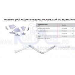 ACCESORII INALTATOR TRIUNGHIULAR 11.5X24MM INOX 712.82.997