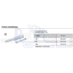 PUSH UNIVERSAL 40MM 74MM ALB 356.05.024