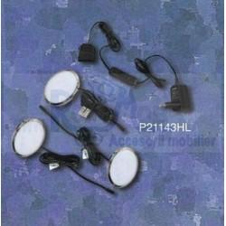 KIT 3 LED ROTUND CROM P21143HL