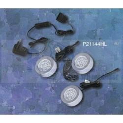 KIT 3 LED ROTUND CROM MAT P21144HL