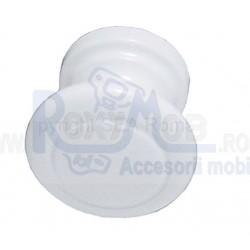 BUTON PLASTIC ALB 26X23MM 484.05.11