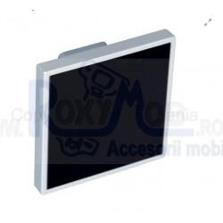 MANER PLASTIC 65X65 32MM CROMAT SATINAT NEGRU 484.97.119