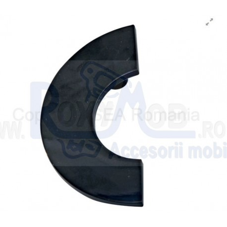 MANER PLASTIC 98X50MM 64MM NEGRU 484.63.19
