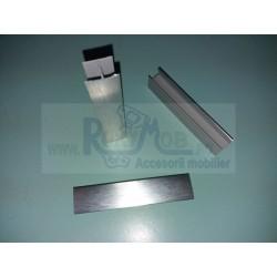 IMBINARE PLINTA PLASTIC PVC 100 MM CU FOITA ALU