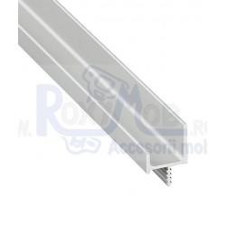 PROFIL MANER HAFELE TIP U ASIMETRIC L30X11MM 5M 126.20.920