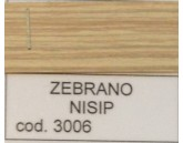 FOLIE CANT 42 MM ZEBRANO NISIP H3006