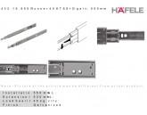 GLISIERA HAFELE BILE AMORTIZARE 45.7 L550 MM 45KG 432.16.955