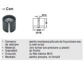 CON PICIOR HAFELE RONDELLA DIAM 60 MM 635.06.025
