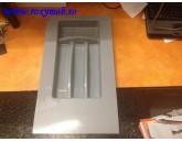 TAVA TACAMURI PLASTIC 281X498 MM GRI 15.2956.350.8C