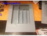 TAVA TACAMURI PLASTIC 402X498 MM GRI 15.2956.450.8C