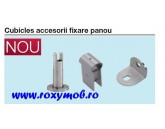 CUBICLES PICIOR REGLABIL PANOU H105-145MM INOX 988.98.110