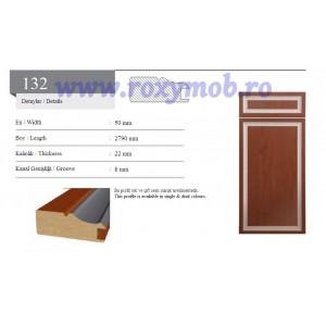 PROFIL MDF 132 - 22X50X2800MM - WENGHE 246