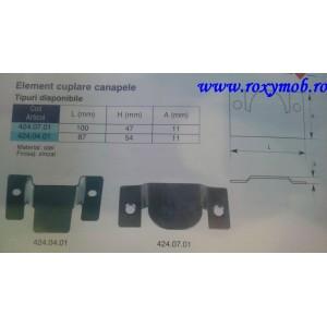ELEMENT CUPLARE CANAPELE L100XH47X11MM 424.07.01
