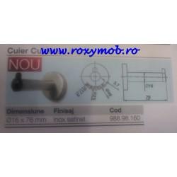 CUBICLES CUIER INOX DIAMETRU 16X76MM 988.98.160