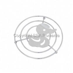 SUPORT VASE METALIC 205X17MMH RATA CROMAT 570.03.06