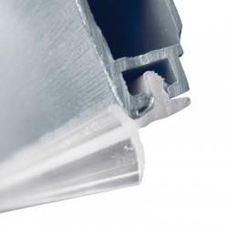 PLINTA H120 MM PLASTIC FOLIE ALUMINIU 4M 24.EZJ0.120.08