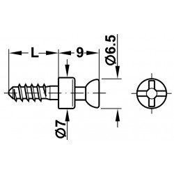 DEMONTABIL RAFIX 20 BOLT S20 BRI 3/11 263.20.114