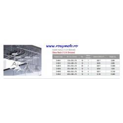 SUPORT PAHARE STARAX 1 BRAT 120X500X70MM S-4042