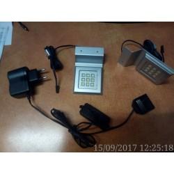 KIT 3 LED PATRAT CU PLACUTA P21141HL MAT CROM
