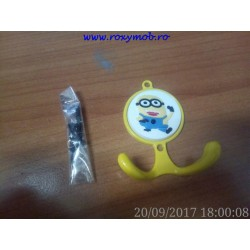 AGATATOR CUIER COPII MINION HG10 55X65X25MM