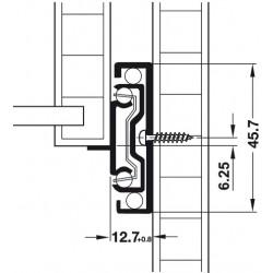 GLISIERA HAFELE BILE AMORTIZARE 45.7 SUB 350 MM 432.18.935