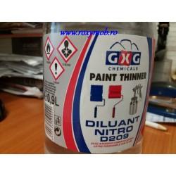 DILUANT NITRO D209 0.9L GXG CHEMICALS