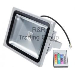 PROIECTOR LED CU SENZOR RGB, TGD-074 20W, 230V