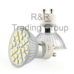 BEC LED GU10 LR 4W, 6400K