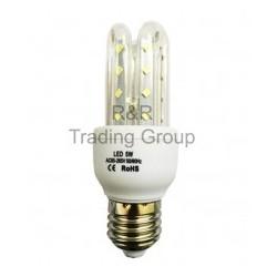 BEC LED E27 3U LR 5W, 6400K