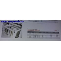 SUPORT PANTALONI 760-790X475X170MM ALB CU AMO S-6709