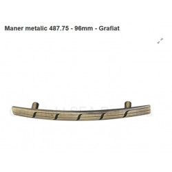 MANER ARCADA METALIC 096MM GRAFIAT 487.75.39